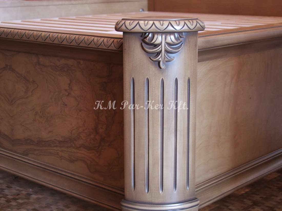 meuble sur mesure 41, colonne du lit