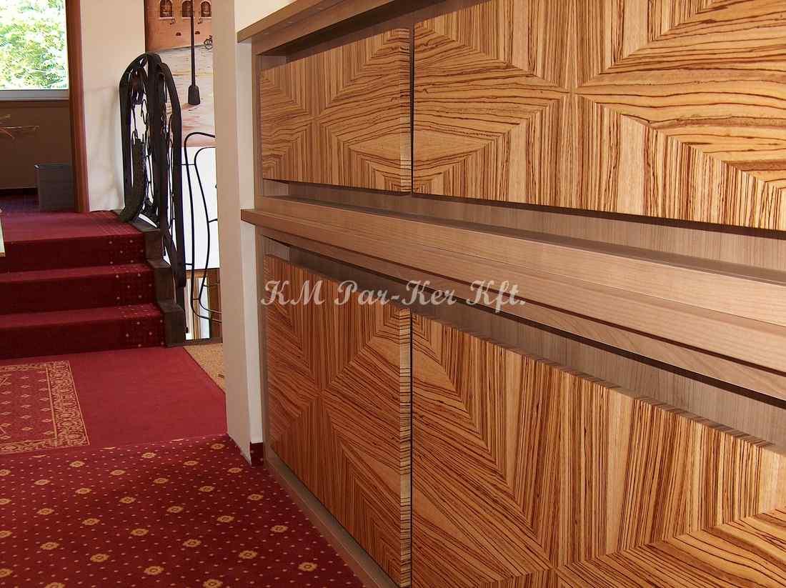 meuble sur mesure 75, comptoire de réception