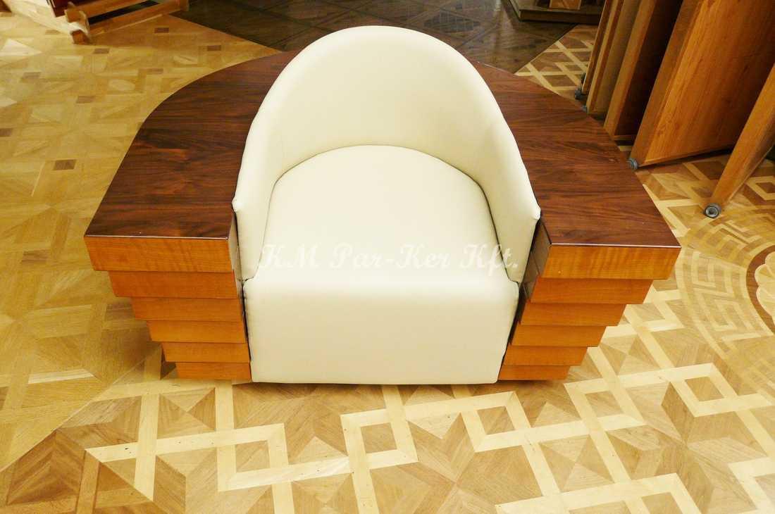 meuble sur mesure 84, fauteuil moderne