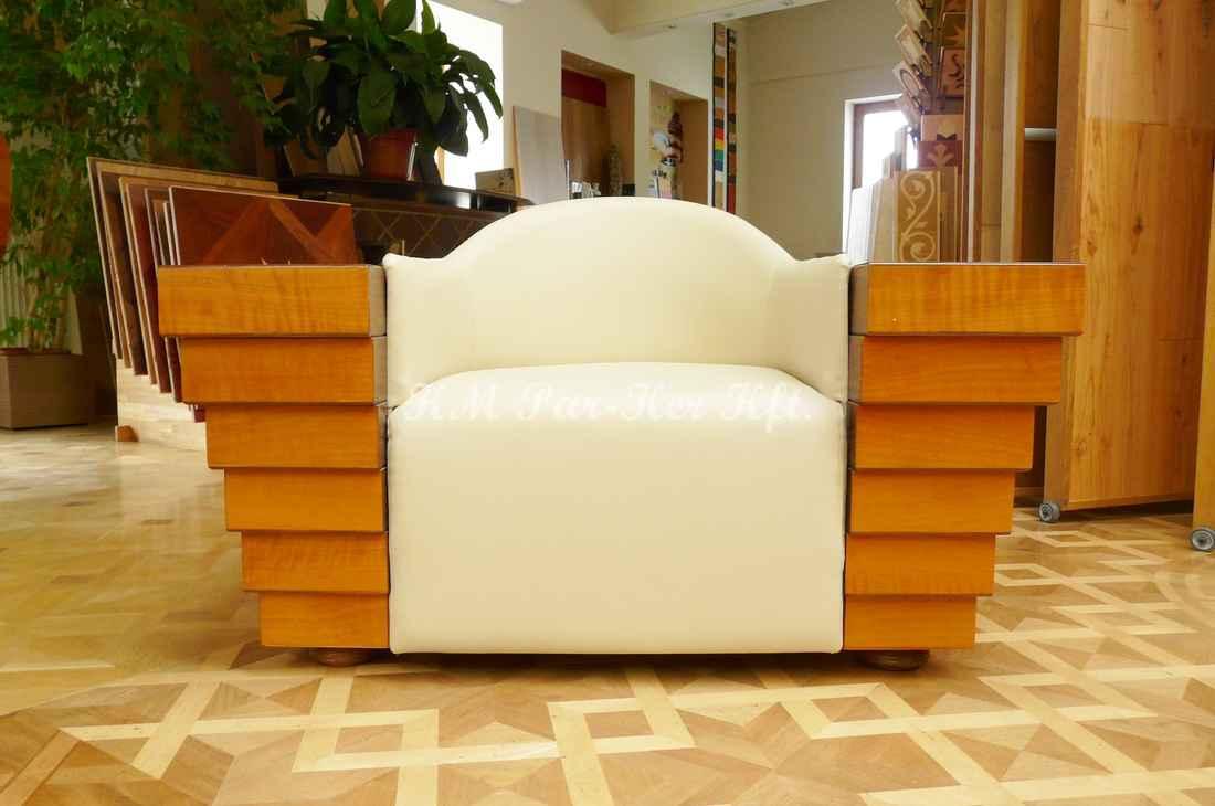 meuble sur mesure 85, fauteuil moderne