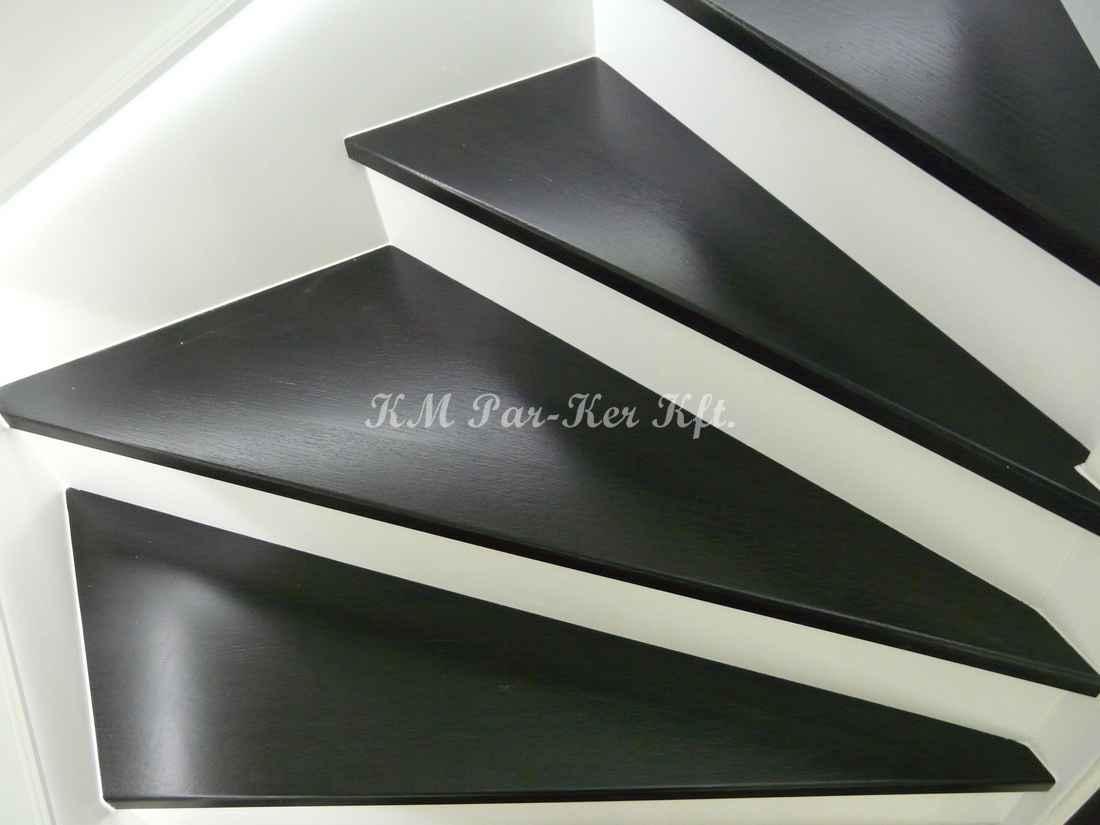 fa lépcső 28, kontrasztos fekete-fehér