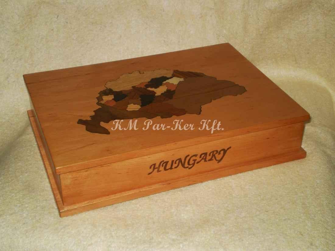 intarzia doboz 17, Nagy Magyarország