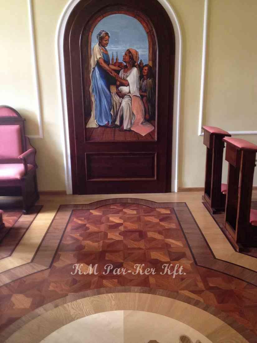 intarzia parketta 40, Szombathelyi Püspöki Hivatal