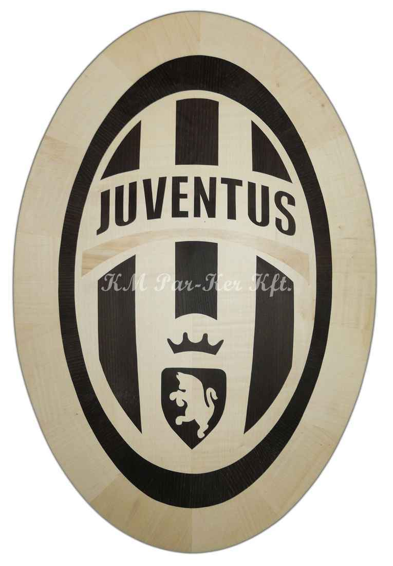 intarziás asztal, Focis, Juventus