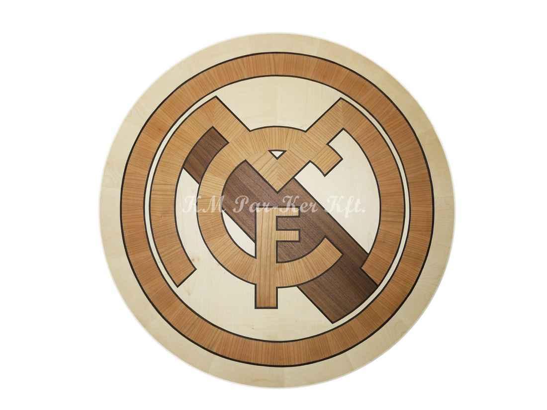 intarziás asztal, Focis, Real Madrid
