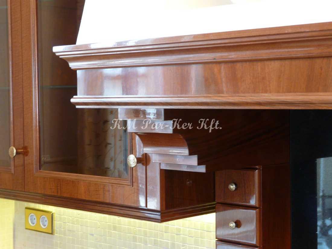 intarziás bútor 59, konyhabútor részlet