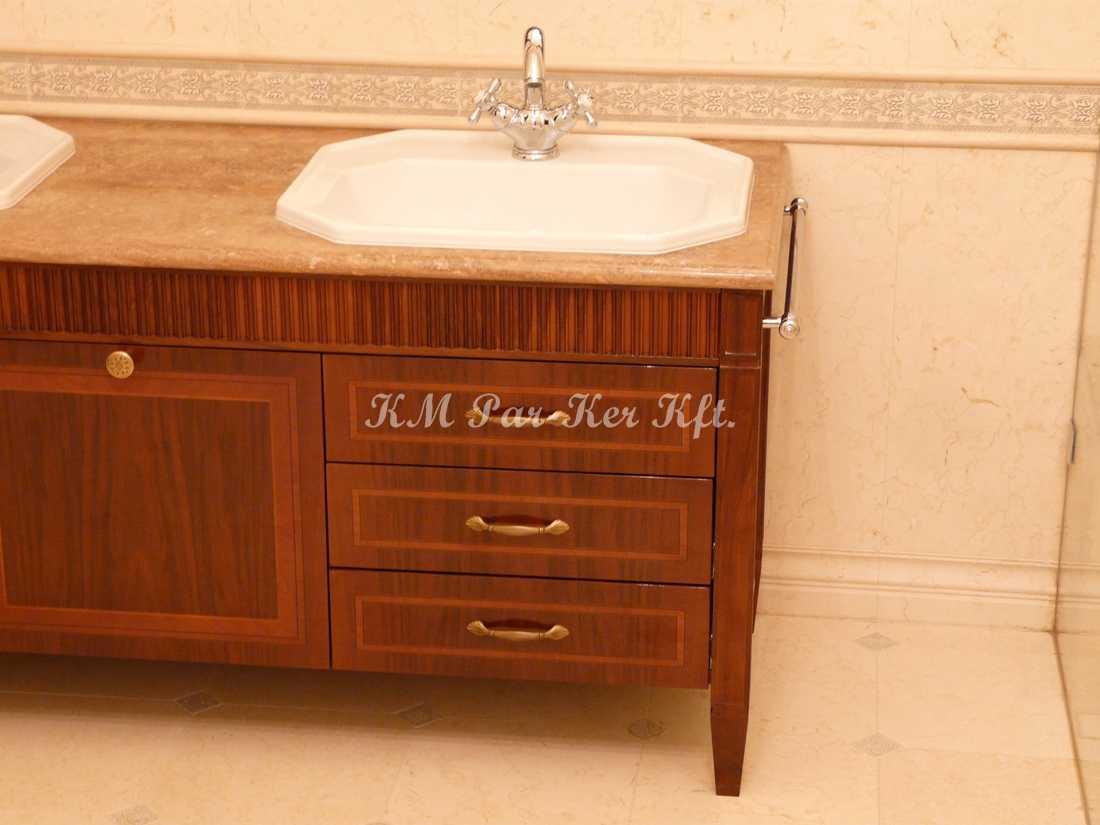 intarziás bútor 62, fürdőszoba