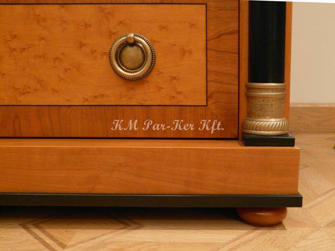 intarziás bútorok 10, szekreter részlet