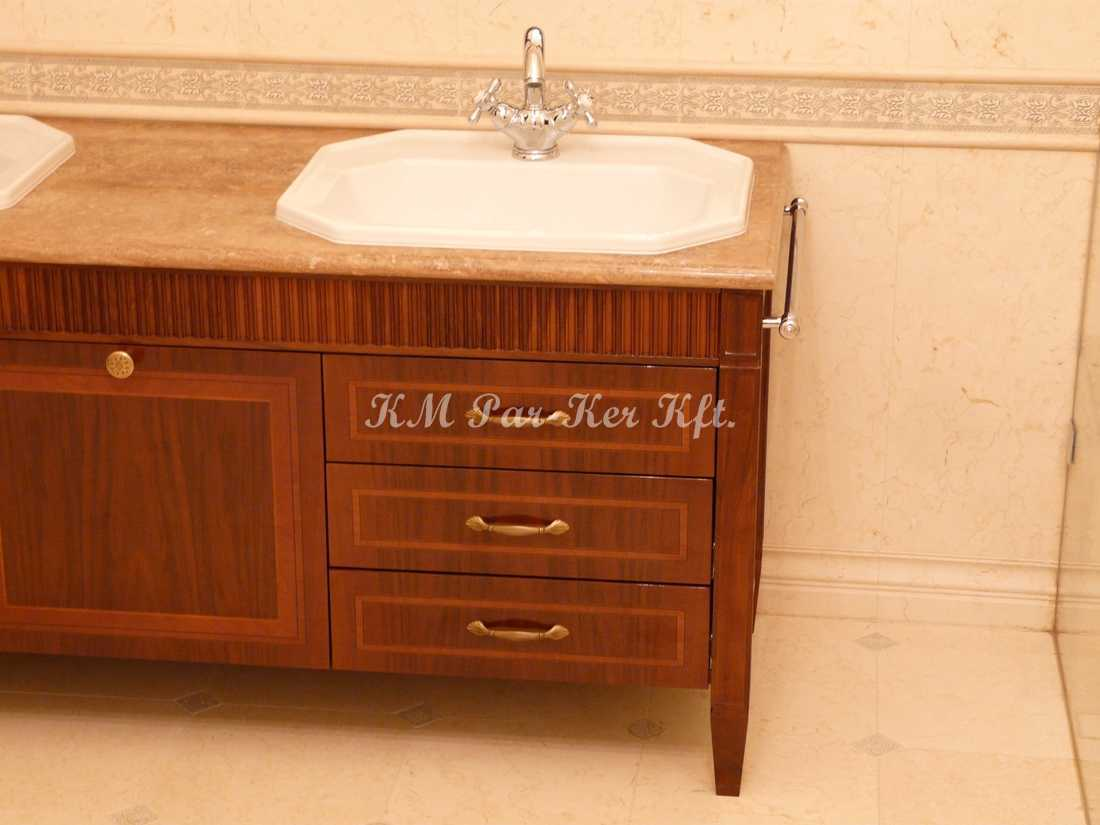 intarziás bútorok 26, fürdőszoba