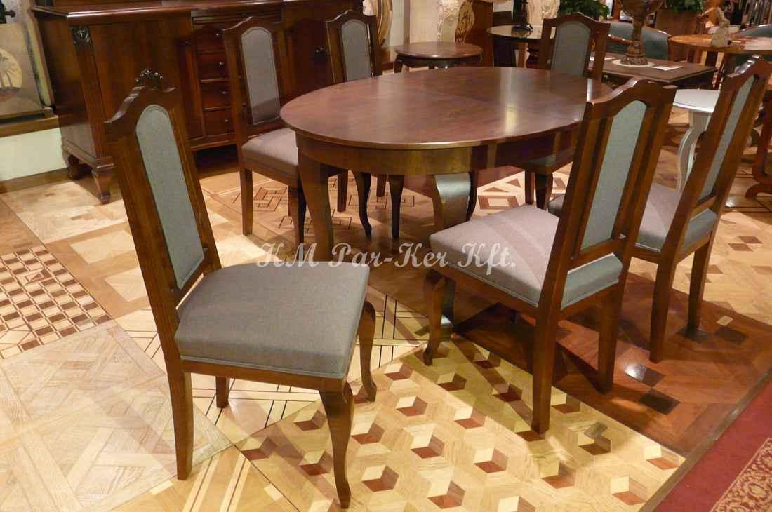 konyhabútor 22, étkezőszék, asztal