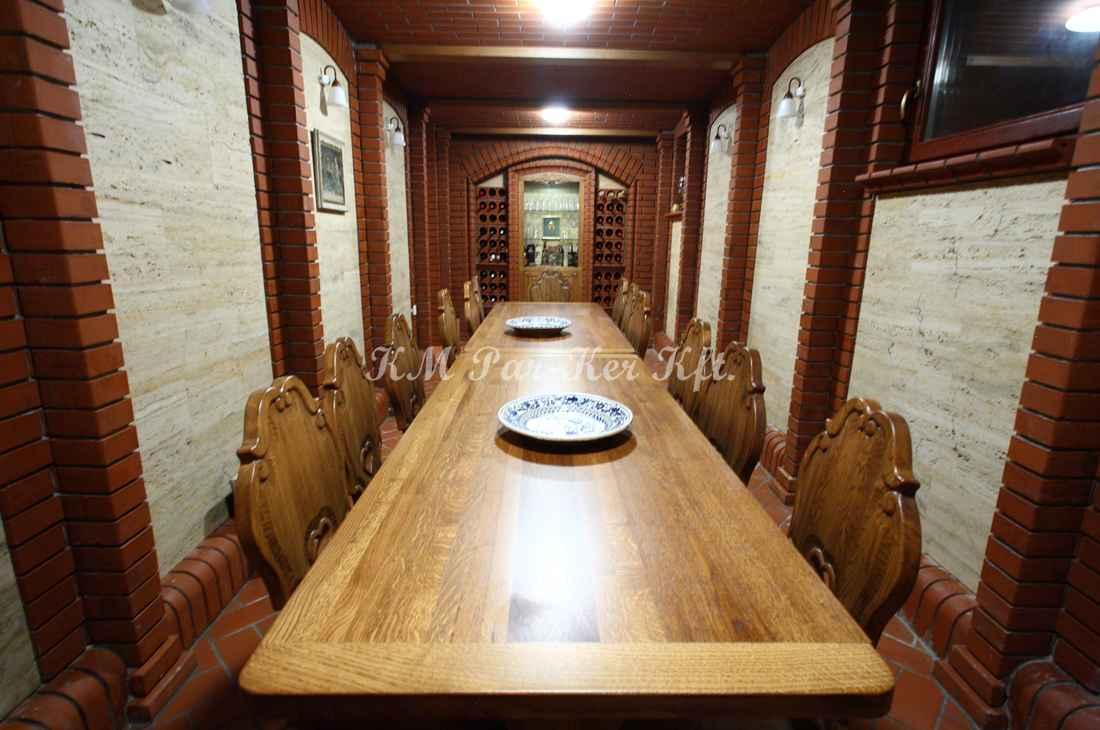 konyhabútor 25, falusi szív étkezőszék, asztal