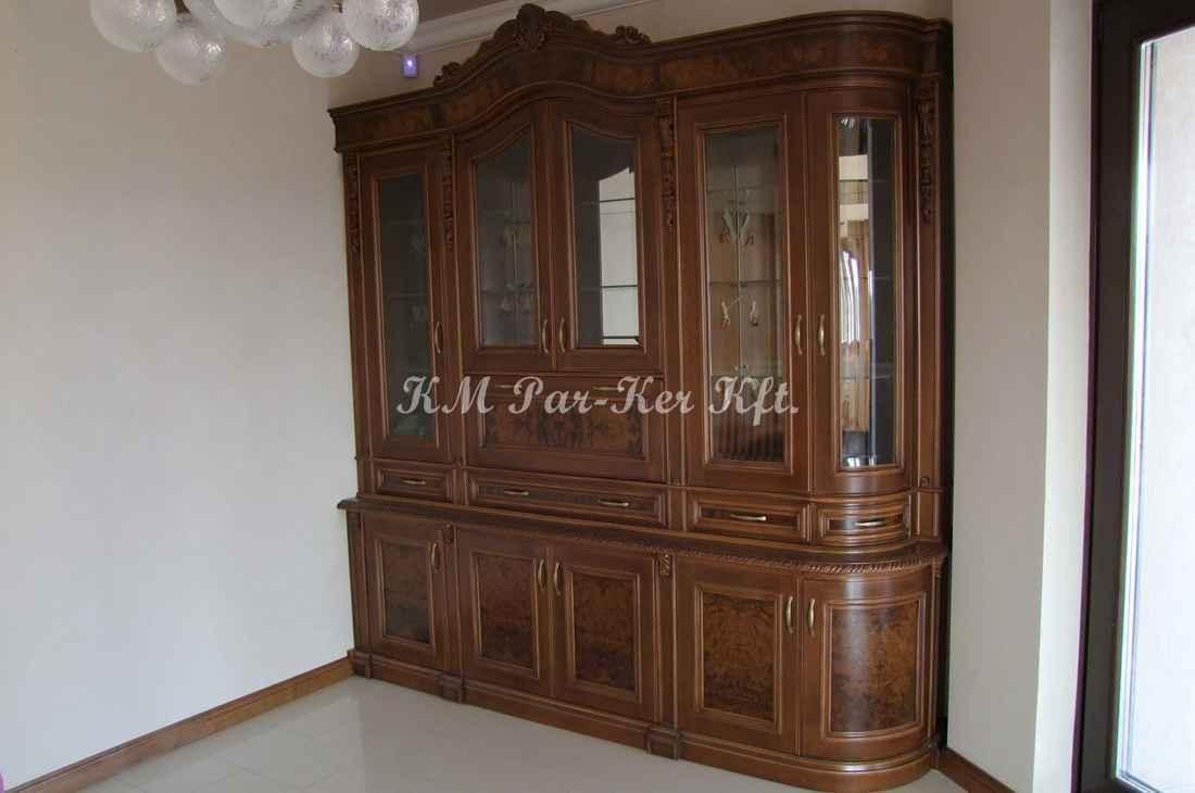 konyhabútor 27, gyökérbetétes tálaló szekrény