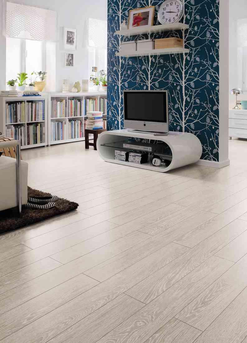 laminált padló 04, fehérített tölgy mintás