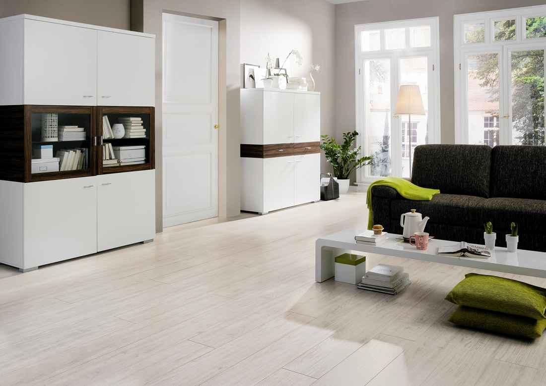 laminált padló 11, fehérített tölgy padlófűtésre