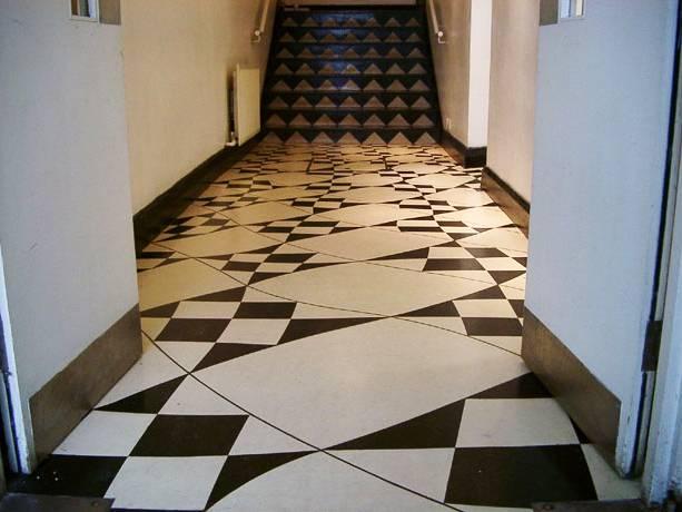 linóleum padló 06, design