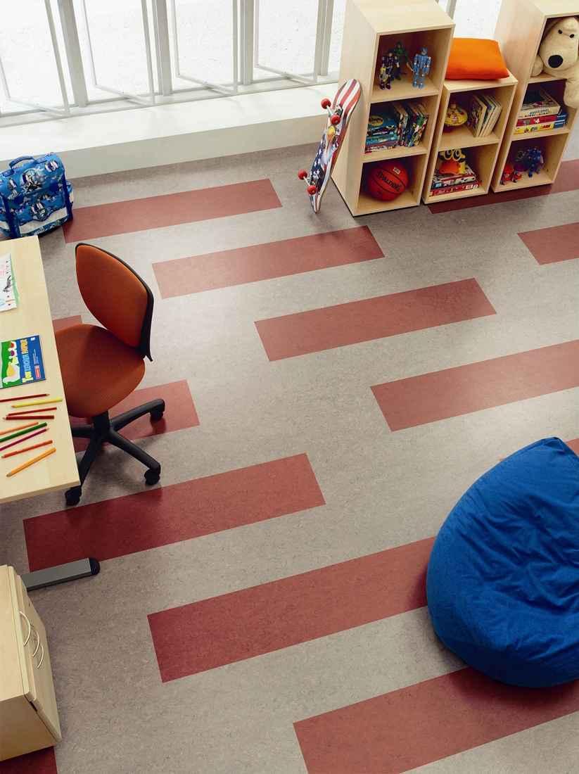 linóleum padló 15, gyerekszoba, padlófűtés