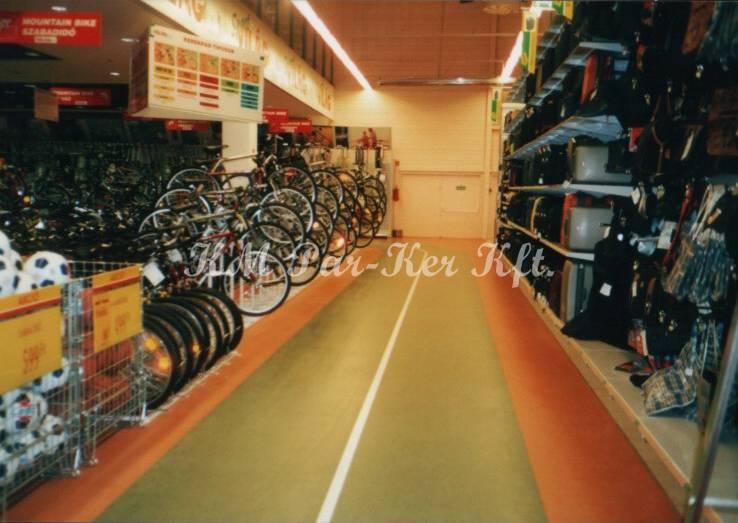 linóleum padló 28, bevásárló központ, Auchan