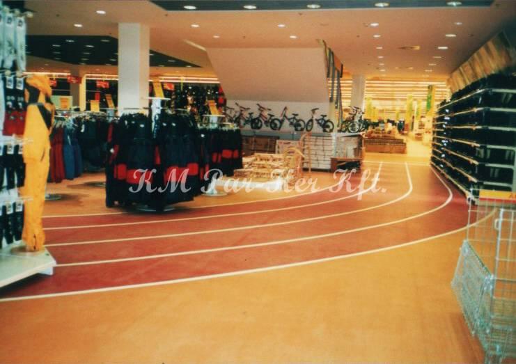 linóleum padló 29, bevásárló központ