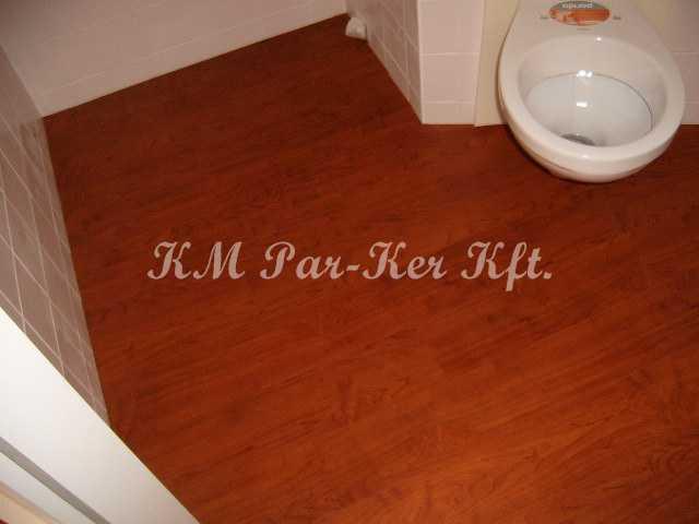 PVC padló 03, csík, vizes helyiségbe
