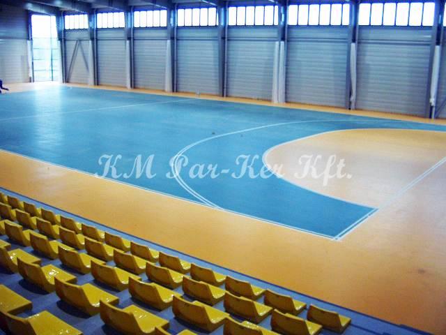 sportpadló 07, PVC betonra
