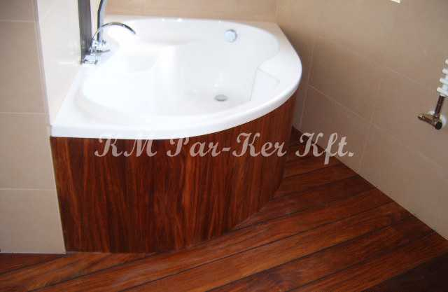 svédpadló 15, vizes helyiség, fürdőkád