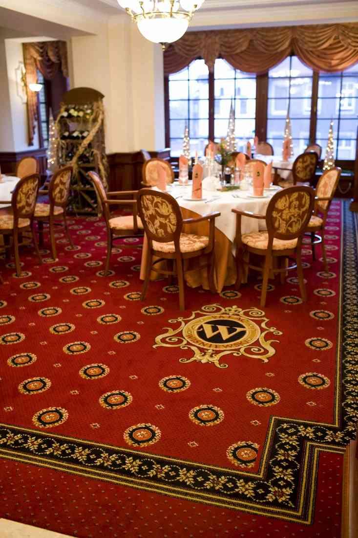 szőnyegpadló gyapjú 08, étterem