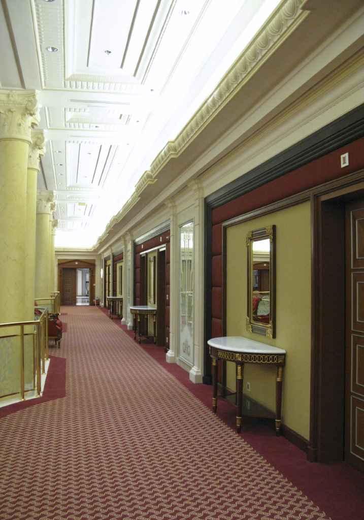 szőnyegpadló gyapjú 13, szállodai folyosó
