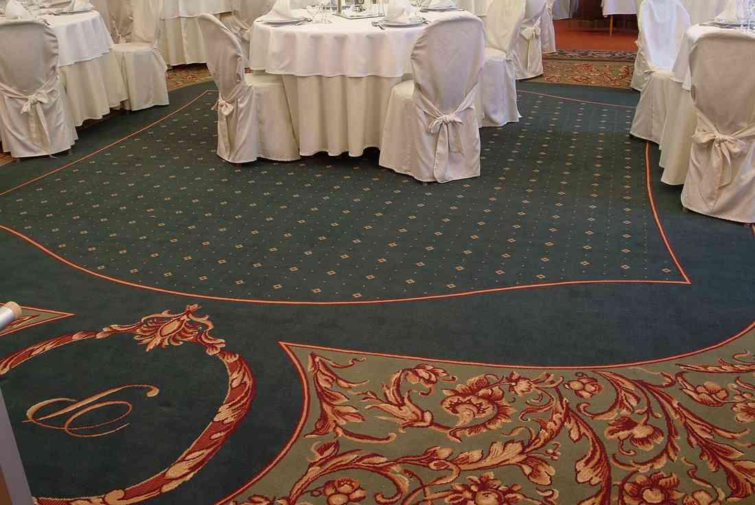 szőnyegpadló gyapjú 31, étterem