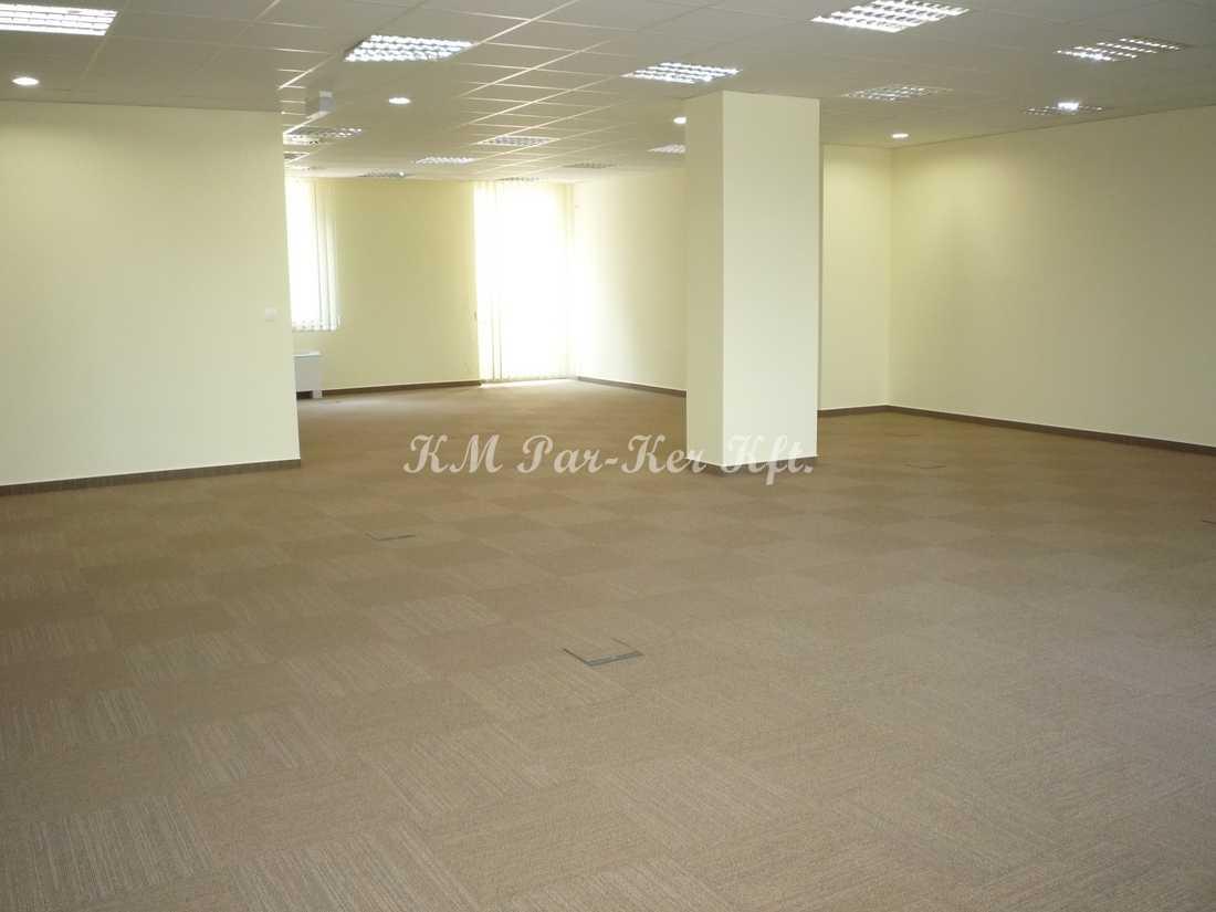 szőnyegpadló modul 10, padlódobozzal