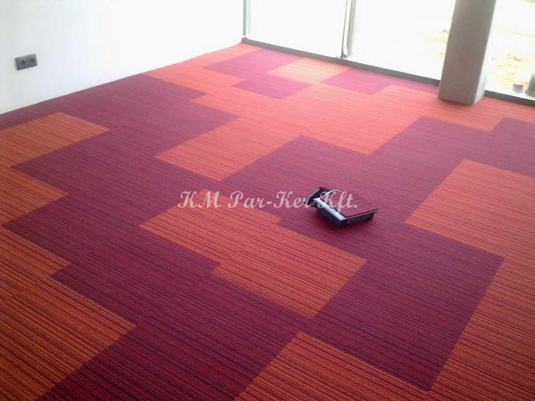 szőnyegpadló modul 13, variált