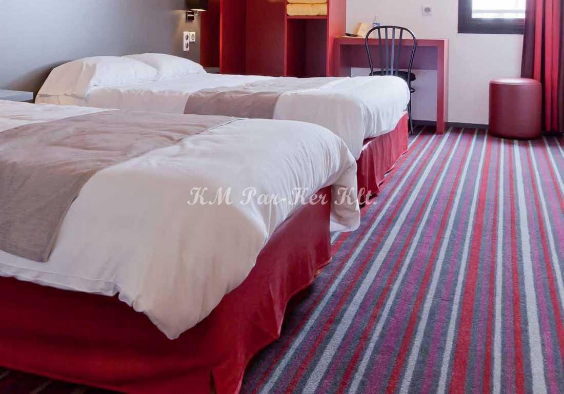 szőnyeg padló poliamid 10, szállodai szoba