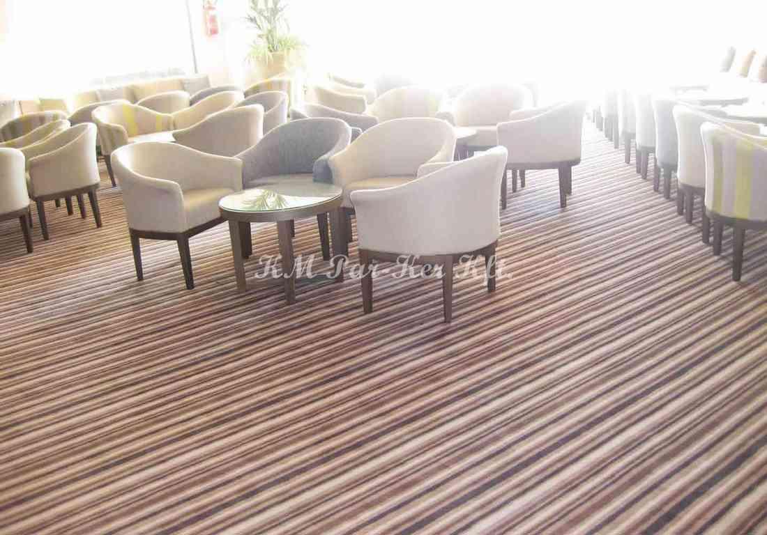 szőnyeg padló poliamid 27, csíkos