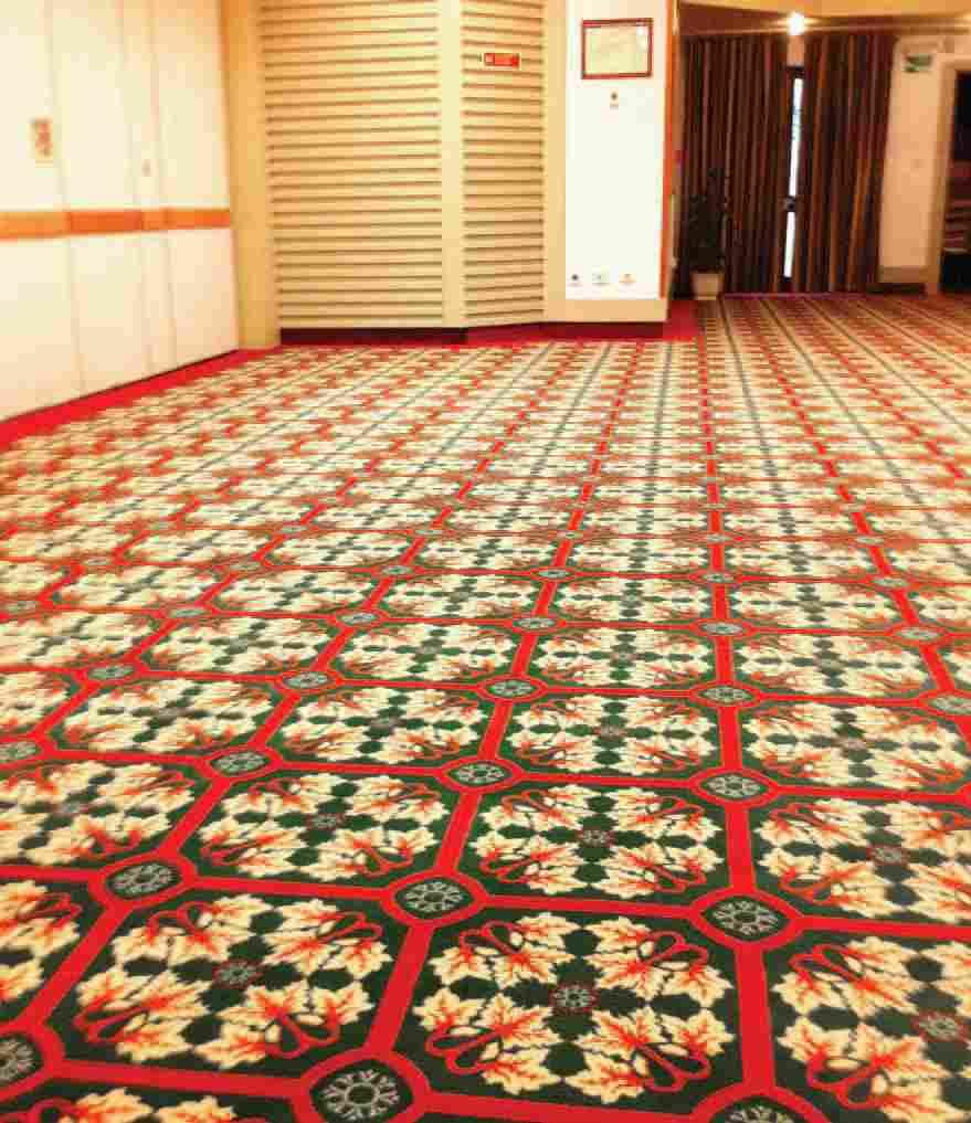 szőnyegpadló poliamid 32, sűrű mintás