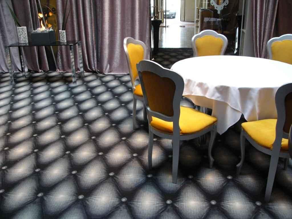 szőnyegpadló poliamid 44, térhatású