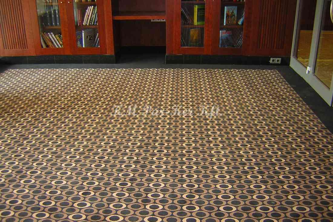 szőnyegpadló poliamid 49, szálfestett