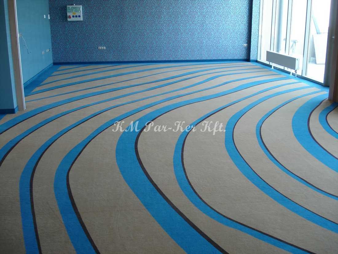 szőnyegpadló poliamid 65, feszített