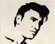 Intarsien Bild -Elvis Presley