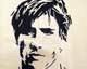 Intarsien Bild -Fernando Torres