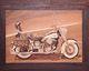 Intarsien Bild -Harley Davidson