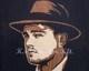 Intarsien Bild -Leonardo DiCaprio