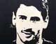 Intarsien Bild -Lionel Messi