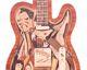 Intarsien Kunst -In Gitarre gesperrte Synthese