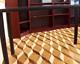 Tafelparkett, Intarsien Parkett 14, S11 (Ahorn, Eiche, gedämpfte Akazie)