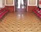 Tafelparkett, Intarsien Parkett 57, Bruno (Eiche, Walnuss), Ungarische König Hotel