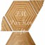 Tafelparkett, Intarsien Parkett, Hexagon