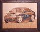 marquetry picture -Porsche