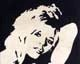 wood inlay art -Brigitte Bardot