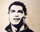 wood inlay art -Cristiano Ronaldo