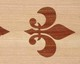 wood inlay floor border 10