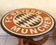 wood inlay table, Football Club Bayern München